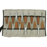 Pfeil Carving Tools, Sycamore, 12-Piece Set