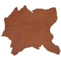 Elk Leather, Medium Brown, 15-16 sq. ft.