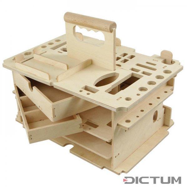 Переноска для инструментов DICTUM «столярных, для внутр. отделки», без инстр.