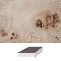 Grained Poplar, 150 x 150 x 60 mm