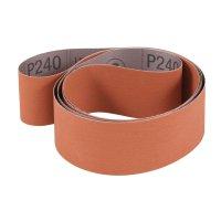 3M Aluminum Oxide/Cubitron Abrasive Belt 707E, Grit 120