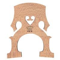 Ponticello Despiau n. C2 francese, qualità A, grezzo, violoncello 4/4, 90 mm