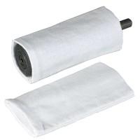 Manchons de polissage pour abrasif N° 130, 2 pièces, cylindrique Ø 28 x 80 mm