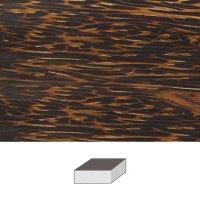 Palmwood, 100  x 100 x 50  mm