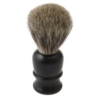Shaving Brush Thiers-Issard, Badger Hair, Plastic Handle, Black