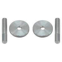Bridge Adjustment Screws, Aluminium, Set