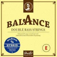 Presto Balance Hybrid Strings, Bass 3/4, Set