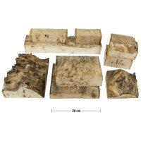 Grained Poplar, Offcuts, 4.5 kg