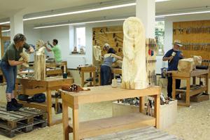 Big workshop room