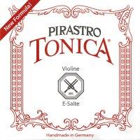 Corde Pirastro Tonica, violino 4/4, set, MI lucido