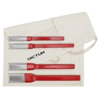 All-metal Chisels, 4-Piece Set