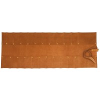 Leather Tool Roll, 20 Pockets
