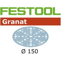 Festool Disque abrasif GRANAT STF D150/48 P120 GR/100
