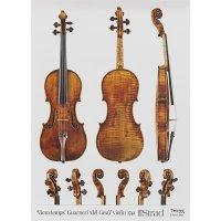 Póster, violín, Giuseppe Guarneri del Gesù, »Vieuxtemps« 1741