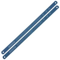 Replacement Blades for Metal Coping Saw, Length 300 mm, 18 Teeth per Inch