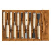 Ciseaux à bois DICTUM Oire Nomi, jeu de 10 pièces