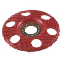 King Arthur's Tools Holey Galahad Carbide Disc, Flat, Medium