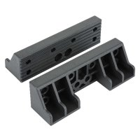 Wide Chucks for DICTUM Universal Guide Rail, Pair