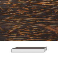 Palmholz, 300 x 38 x 38 mm
