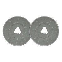 Lame de rechange pour cutter circulaire Olfa, 2 pièces