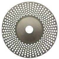 Diamond look-through grinding wheel D126