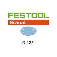 Festool Disque abrasif STF D125/8 P80 GR/50