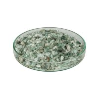 Granulats de pierres précieuses pour la marqueterie, 200 g, aventurine
