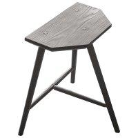 Staked Furniture - three-legged stool