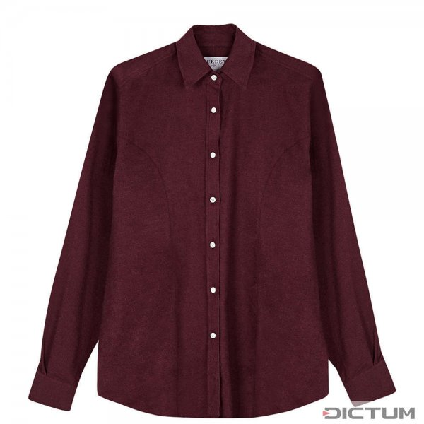 Purdey Damenhemd, weinrot, Größe 32