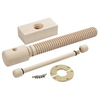 Lake Erie Toolworks, Wood Vice Screw, presse d'établi, Premium