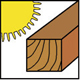 Trockenes Holz
