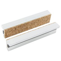 York Magnetic Protective Jaws, 100 mm, Aluminium with Cork Padding