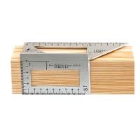 Équerre 3-D à onglet Shinwa, angles 45°/90°