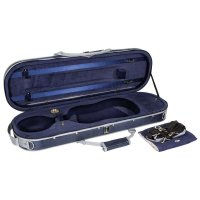 Rome Oblong Case, Violin 4/4, Blue