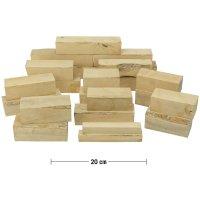 Assortiment de bois équarri de buis, 4,5 kg
