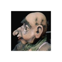 Holzkopf - Schnitzen eines Puppenkopfes