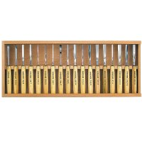 Pfeil Compact Carving Tools, 18-Piece Set