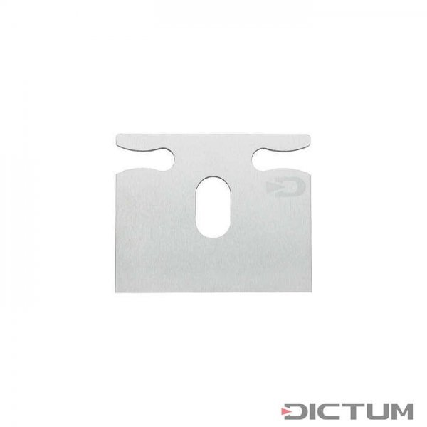 Replacement Blade for DICTUM Spokeshave, Straight Sole, SK4 Steel