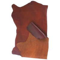 Swedish Cowhide, Half Side, Brown, 9-10 sq. ft.