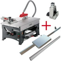 OFFER SET: MAFELL ERIKA 85 Ec with Sliding Table, Fence Guide and Drop Stop