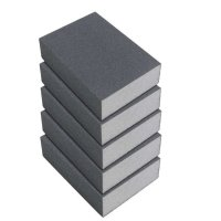 Éponge abrasive KA.EF., grain 100, 5 pièces