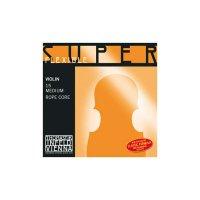 Corde Thomastik Superflexible, violino 4/4, set, MI cromato