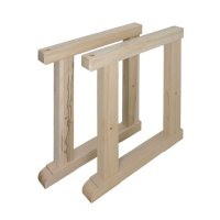 Replacement Legs for DICTUM Workbench »Junior«, Height 770 mm