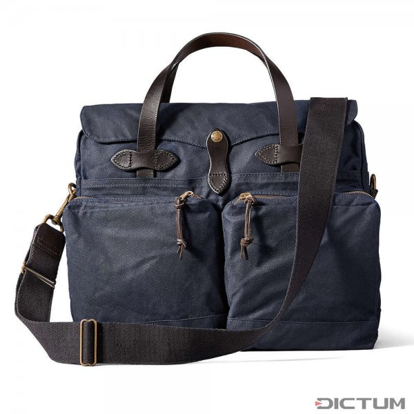 Filson 24-Hour Tin Briefcase, Navy