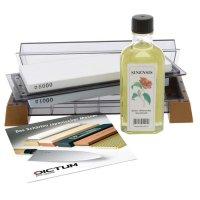 Kombi-Schärfstein, inkl. Öl und DVD