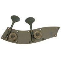 Rubner Brass Machine Head, Old Patina, Tyrolean Model, Set, Bass 4/4, 3/4