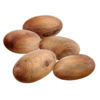 Juniper Grained, 5 Wood Pebbles