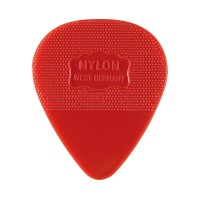 Herdim Nylon-Picks, Heart-Shaped, 100-Piece Set, Medium
