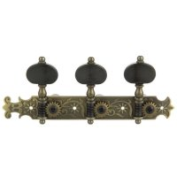 Der Jung Tuner Set, Classical Guitar, Brass Finish