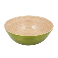 Bamboo Bowl Shallow, Green